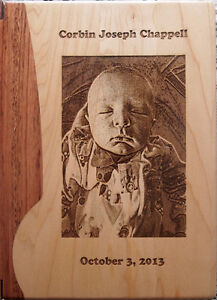 Photo engraved on wood London Ontario image 6