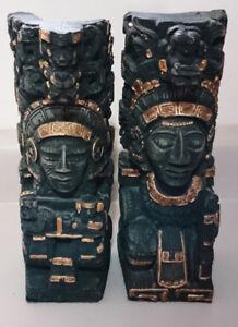 Aztec Mayan God Statue's Totem Pole Mayan Inca