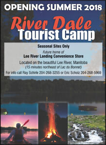 OPEN NOW SEASONAL CAMPGROUND on LEE RIVER