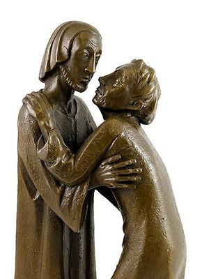 Bronze Bar (Moderne Bronze, Das Wiedersehen - 1930, sign. E. Barlach)