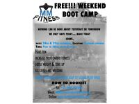 FREE WEEKEND BOOT CAMP IN CLAPHAM COMMON