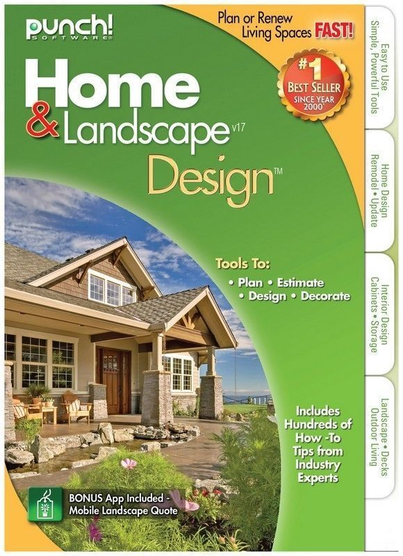 Software Home & Landscape Design is a great option for home, landscape, and  interior designing. Users can build a new house or recreate their own with  ...