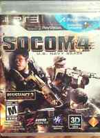 SOCOM 4. PS3 game