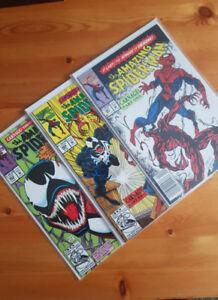 Amazing spider-man 361, 362 et 363