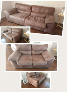 Beautiful matching couch and love seat