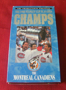 The 1993 STANLEY CUP PLAYOFFS ON VHS