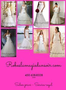Robes de mariée a juste prix - UNE VRAIE BOUTIQUE