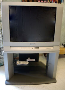 "Panasonic 28"" TV and Stand"