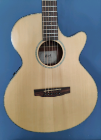 CORT SFX E NS Electro Acoustic Guitar - Low Action! Solid Top