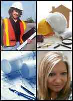 ENGINEERING SERVICES- building permits, stamp, site plans