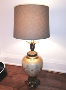 Large Tall vintage table lamp