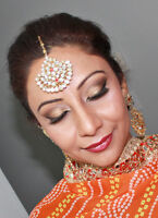 Makeup and hair style
