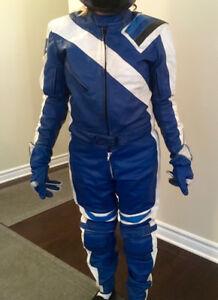 Genuine Suzuki leather suit