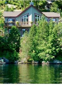 WATERFRONT SUMMER RENTAL-TREMBLANT AREA