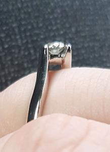 Beautiful Engagement ring and band set.