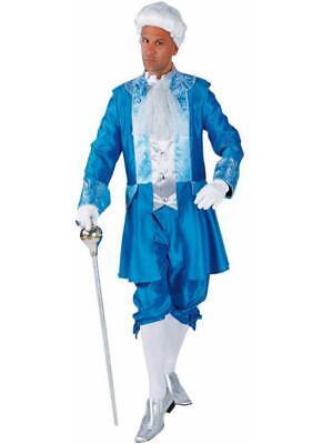 Rokoko Anzug Kostüm Graf Barock Marquis Prinz Baron Rokokokostüm Lord Herzog Hut