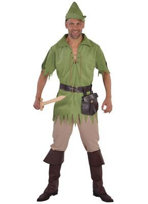 Robin Hood Peter Pan Jäger Film Held Kostüm Anzug Gothic Herren Mittelalter - Peterpan Kostüm