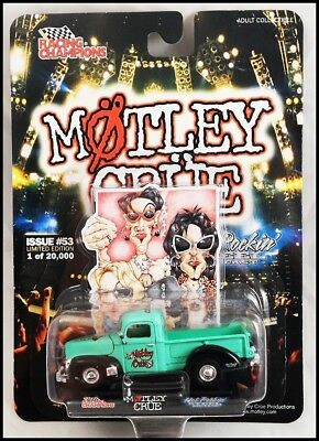 "Motley Crue ""Dr. Feelgood"" 40 Ford Die Cast Pick Up Truck Racing Champions"