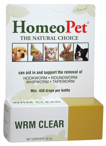 HomeoPet Feline Wrm Clear, 15 ML Per Bottle