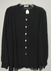 Sheer pleated blouse from boutique in Bayfield