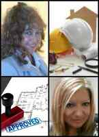 ENGINEER- Drawings, Building Permit, Stamp, Structural
