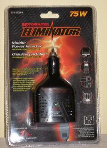 75W Motomaster Eliminator Mobile Power Inverter (New, Sealed)