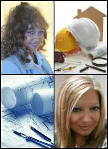 ENGINEERING SERVICES- building permits, design, stamp drawings