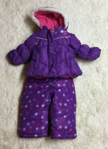 Girls jacket and snow pants