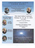 Holy Spirit Jubilee Conference