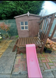 Play house hardly used