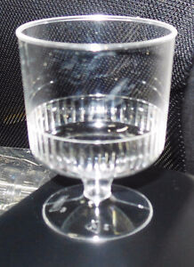 5 oz Plastic Wine Glasses