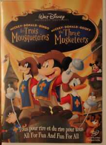 DVD Les 3 mousquetaires - the 3 Musketeers - Mickey