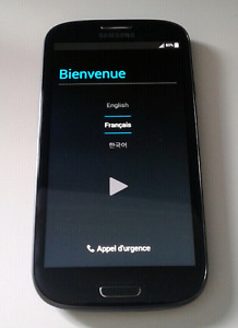 Samsung galaxy s3 16 gig dévérouiller avec carte micro sd 16 gig