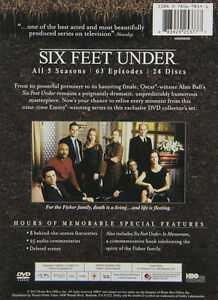 Six Feet Under (Complete Series DVD Boxset - All 5 Seasons!) West Island Greater Montréal image 3