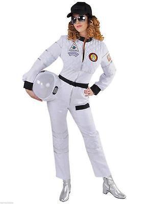 Astronaut Astronautenkostüm Raumanzug Spaceman Kostüm Overall Anzug Damen - Raum Anzug