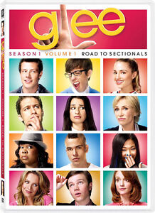 Glee-Season 1-Volume 1-Road To Sectionals-4 dvds-Excellent +