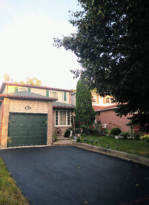 Charming house in Markham Hwy7 & Kennedy for rent avb. October