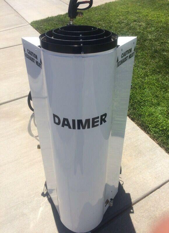 Daimer Super Max 7000 Industrial Steam Pressure Washer