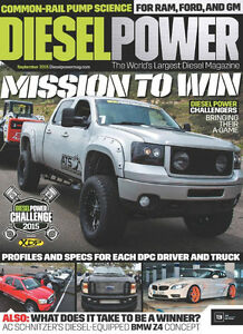 Diesel related magazines