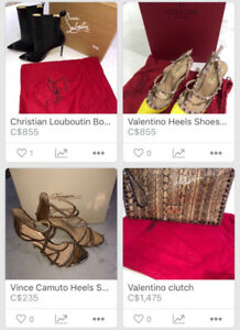 Louboutin! Valentino! Vince Camuto!