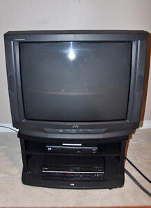 JVC D Series 32 inch television and stand