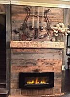100+yr old barn beams.Hand hewn or refined. Mantels & decorative