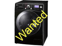 Wanted Black LG washing machine