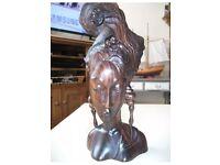 Beautiful Bali hard wood goddess