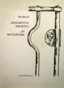 Descriptive Drawing for Metalwork, Blacksmithing Book Set