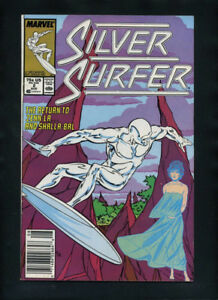 THE SILVER SURFER ISSUE #2 (AUGUST,1987) NEAR-MINT COMIC