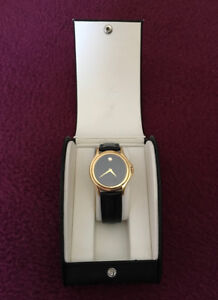 mens Movado Museum watch. Stylish. Great condition. Only $240