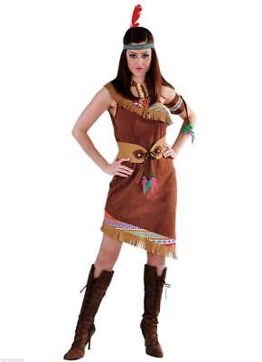 Sexy Indianer Kleid Kostüm Squaw Apache Sioux Indianerin Cow Girl - Sexy Indian Girl Kostüm
