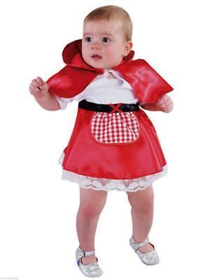Rotkäpchen Mädchen Kinder Baby Kleinkind Rotkäppchenkostüm Kleid Märchen Umhang