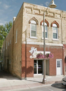 Downtown Wingham retail space for lease